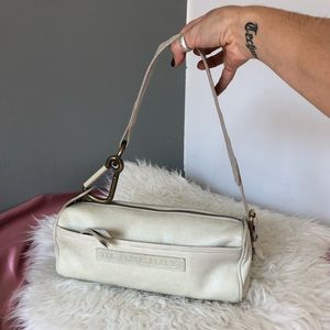 Burberry All Leather Clasp Mini Purse Bag 💘